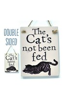 Cat Fed - Double Sign