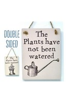 Plants Watered - Double Sign