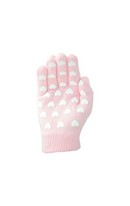 Magic Patterned Gloves Pink