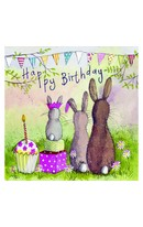Birthday - Rabbit Family
